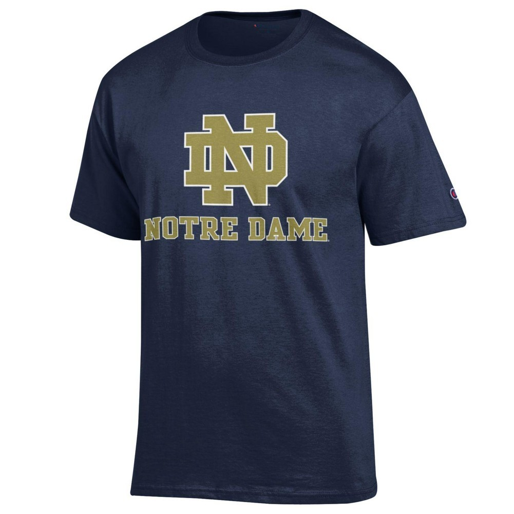 Notre Dame Fighting Irish TShirt Navy Image a